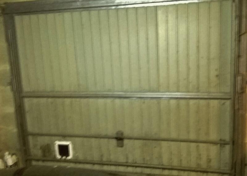 isolation porte de garage au sous-sol Wp_20110