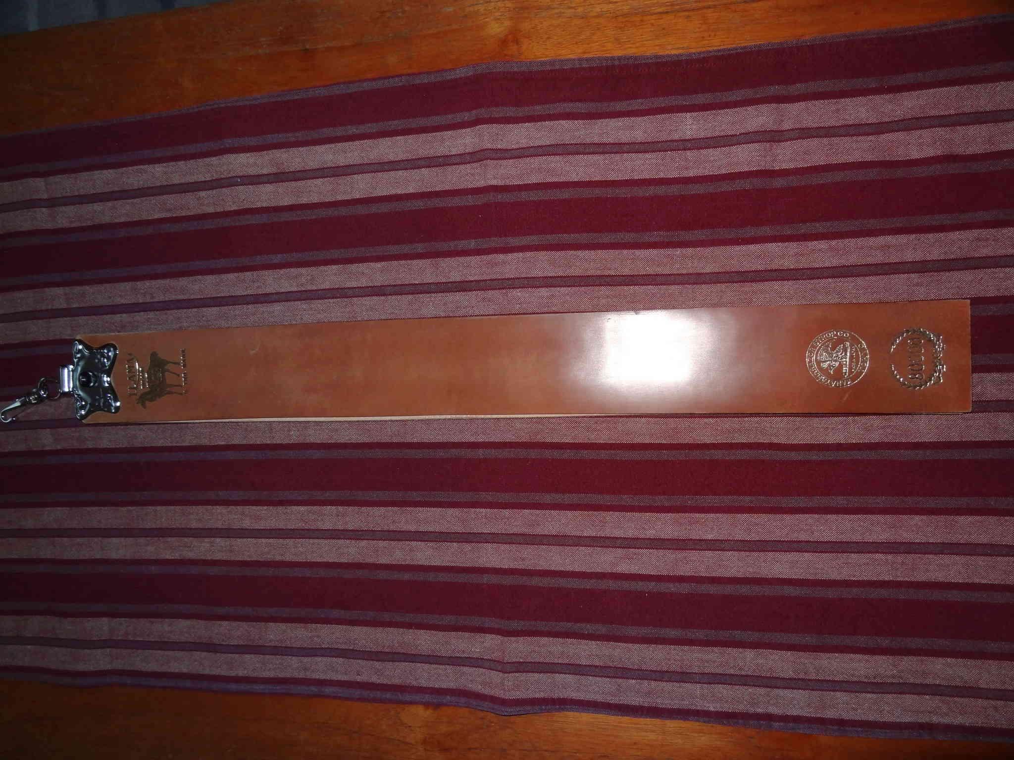 strop en cuir de cheval végétal Dsc01430