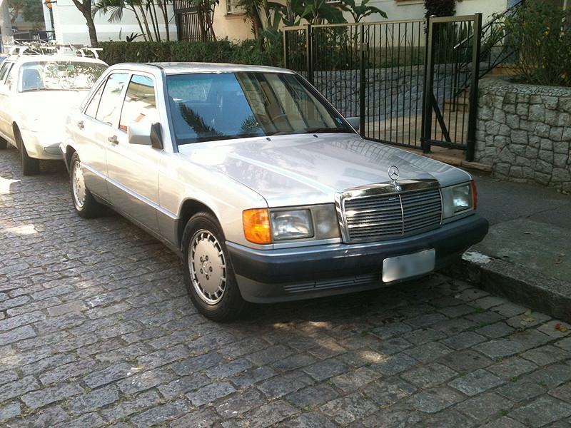 Mercedes-Benz 190E 2.6 - R$ 17.000,00 - Vendido Merca_14