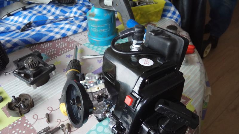 Moteur king motor 32cc sur fg marder Img_2019