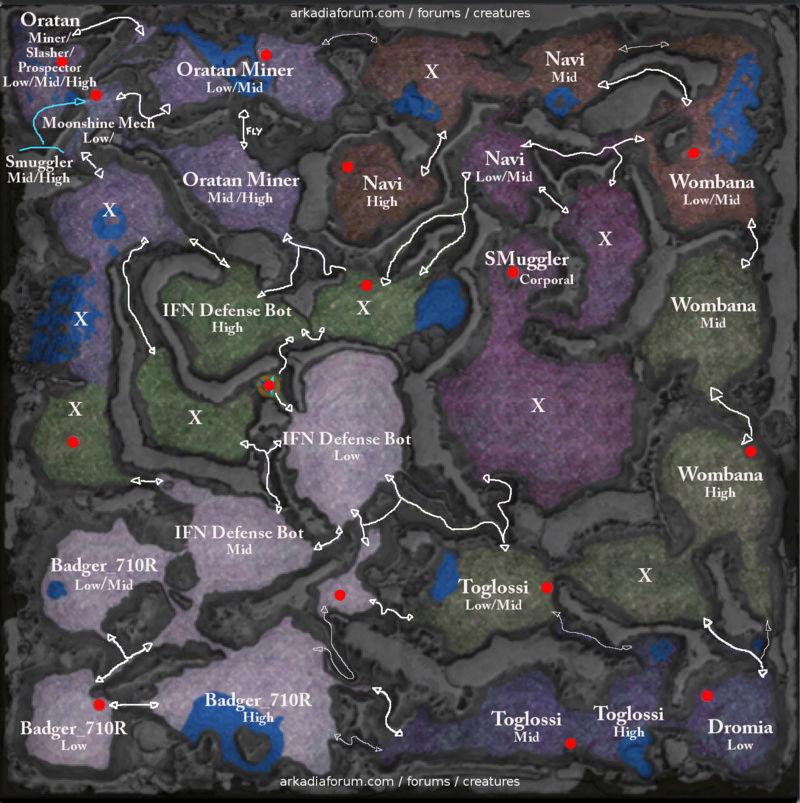Mapas de Calypso - Localizações  Ark_au10