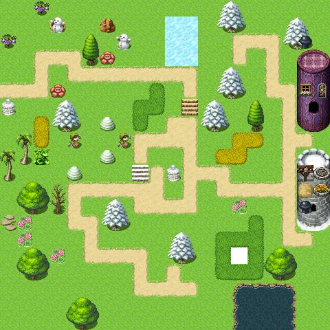 La Map d'Azenor Map00410