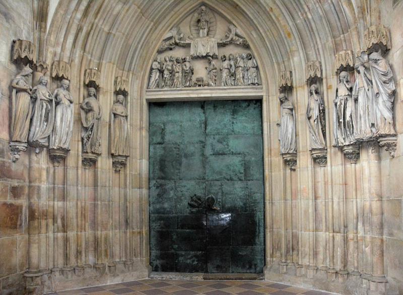 Les 10 vierges de Martin Schongauer. Les sages et les folles (c. 1480) 001107