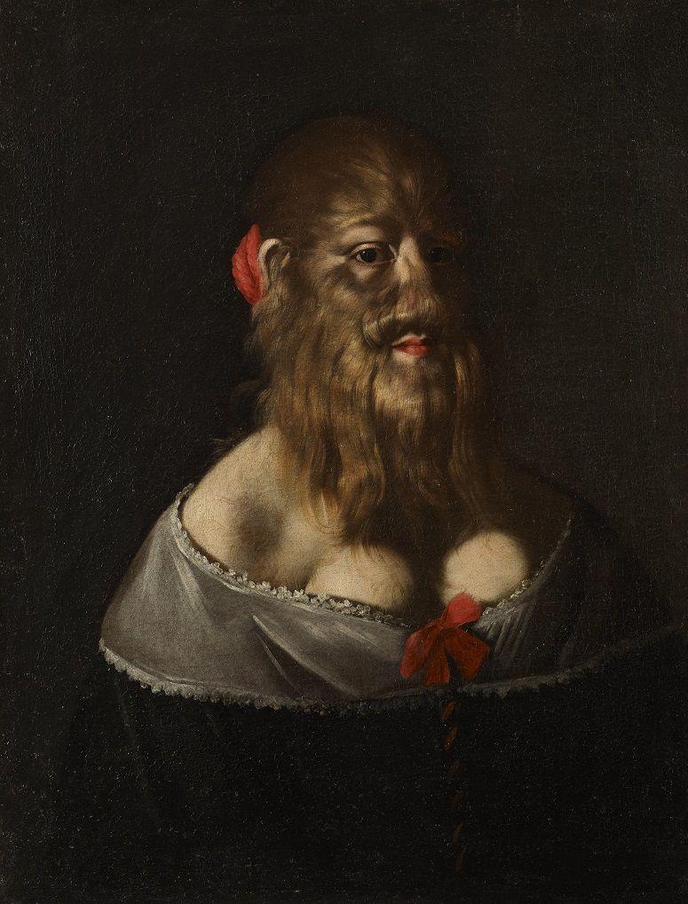Le portrait de la femme à barbe 00115
