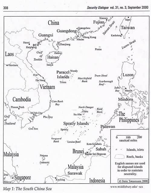 La mer de Chine méridionale, une construction intellectuelle ? 00141