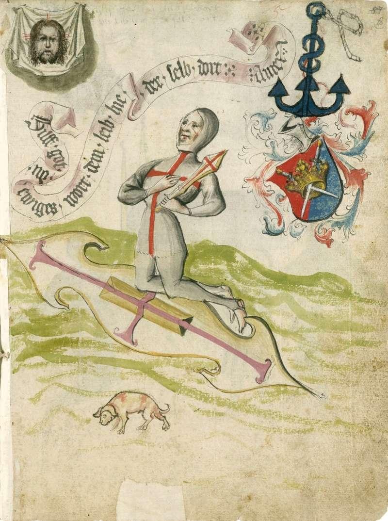 Talhoffer - 1467 : L'art de la guerre & des duels judiciaires par un maître visionnaire. 00144