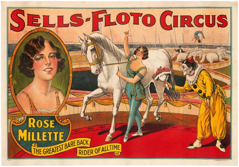 Affiches de cirque 00170