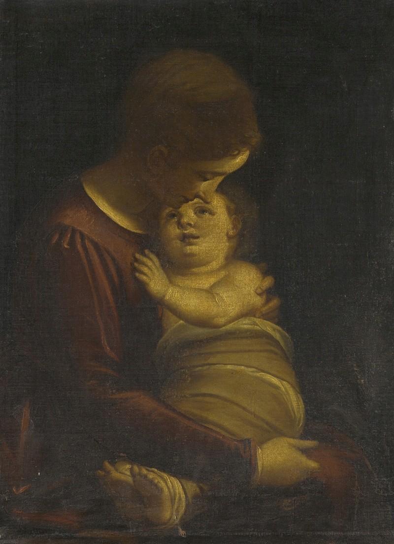 VIERGE À L'ENFANT 00312