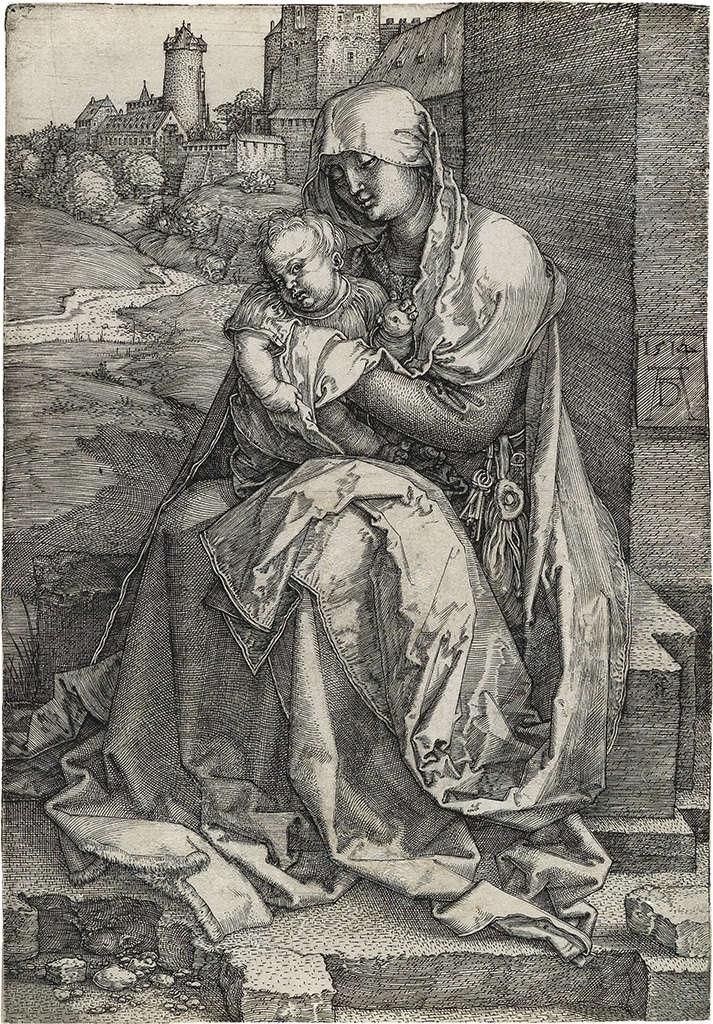 VIERGE À L'ENFANT 00313