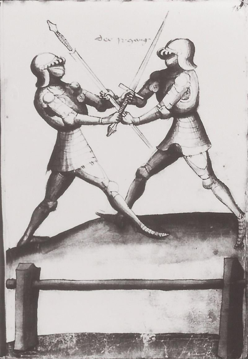 Talhoffer - 1467 : L'art de la guerre & des duels judiciaires par un maître visionnaire. 00323