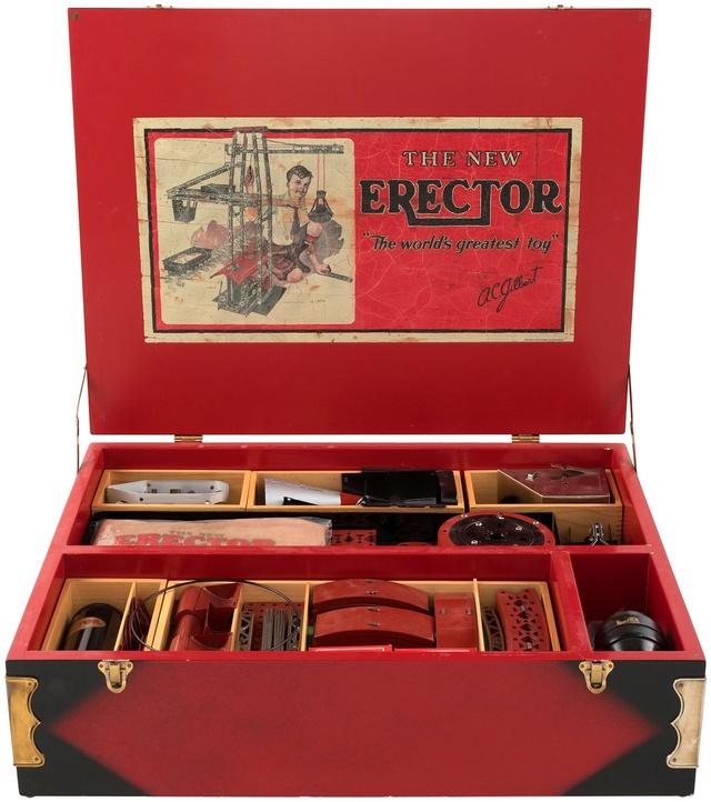 Vends ERECTOR en parfait état, modèle 1929 00328