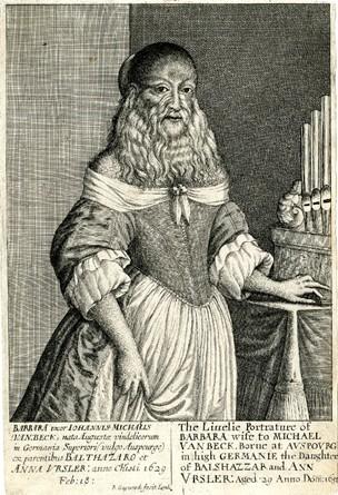 Le portrait de la femme à barbe 00512