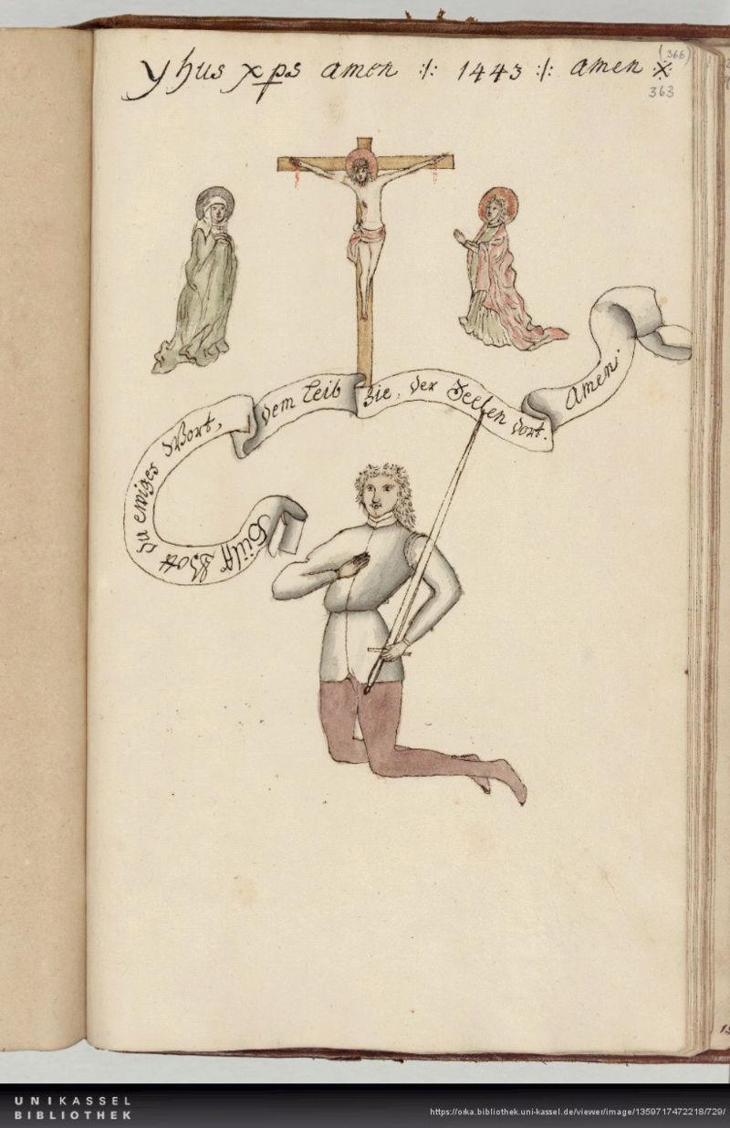 Talhoffer - 1467 : L'art de la guerre & des duels judiciaires par un maître visionnaire. 00522