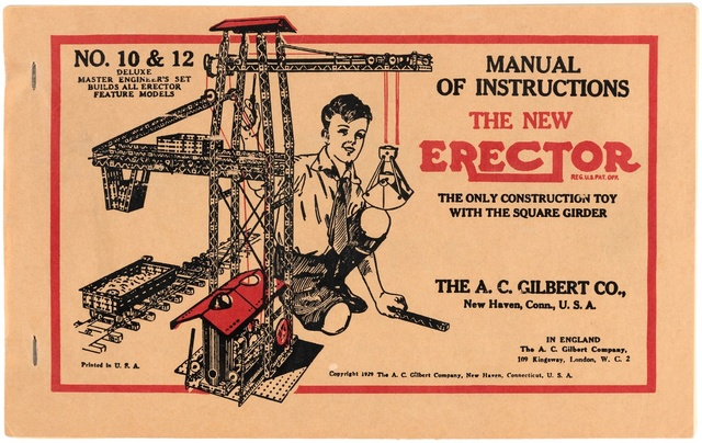 Vends ERECTOR en parfait état, modèle 1929 00524