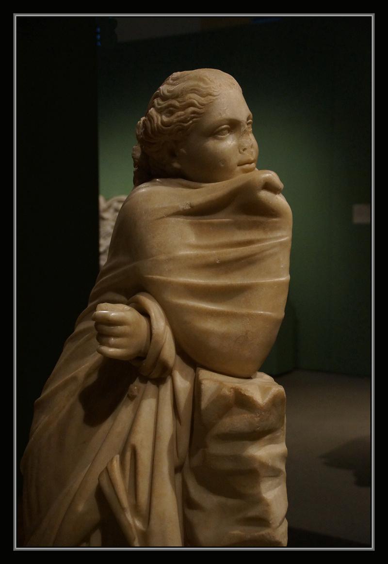 Polymnie et le drapé antique 00632