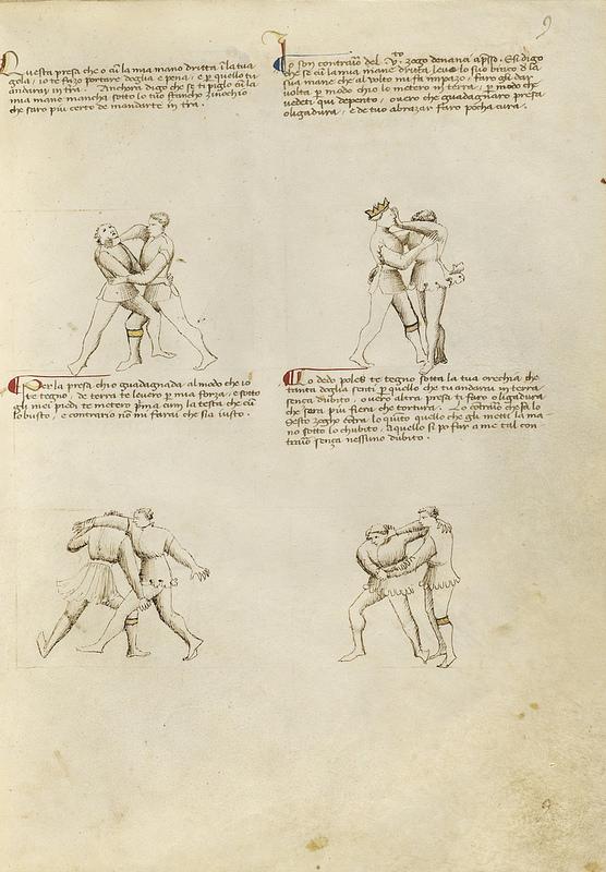 Talhoffer - 1467 : L'art de la guerre & des duels judiciaires par un maître visionnaire. 00920