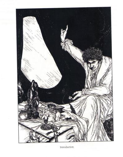 Austin Osman Spare - Le livre des satyres (1905) 00926