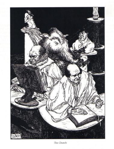 Austin Osman Spare - Le livre des satyres (1905) 01124