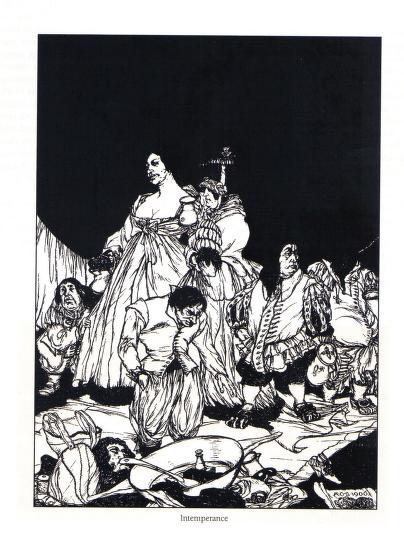 Austin Osman Spare - Le livre des satyres (1905) 01722