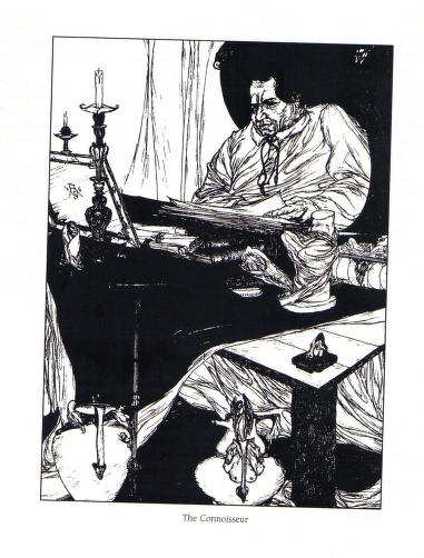 Austin Osman Spare - Le livre des satyres (1905) 02120