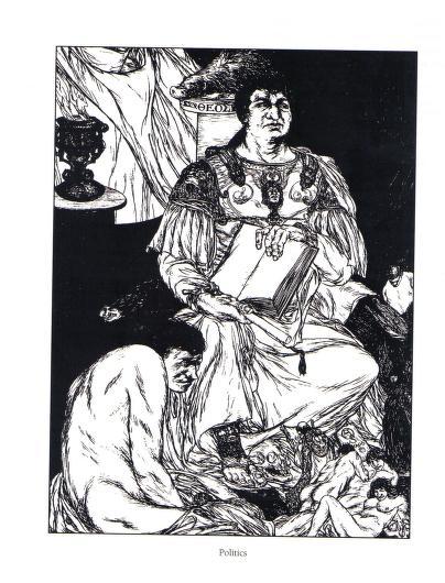 Austin Osman Spare - Le livre des satyres (1905) 02320