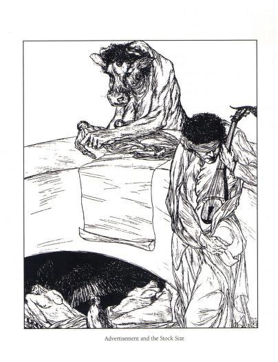 Austin Osman Spare - Le livre des satyres (1905) 02915
