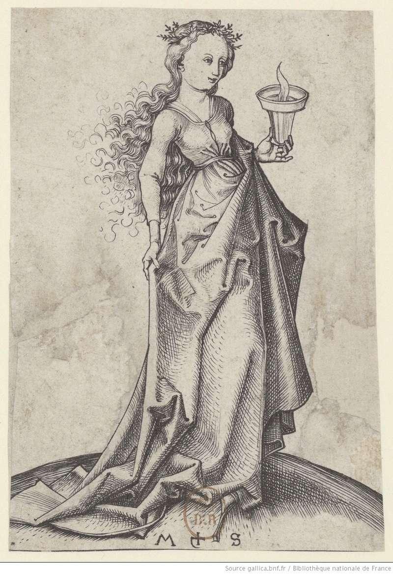 Les 10 vierges de Martin Schongauer. Les sages et les folles (c. 1480) 10210