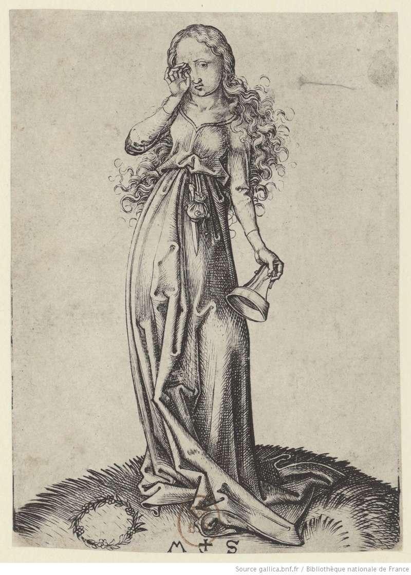 Les 10 vierges de Martin Schongauer. Les sages et les folles (c. 1480) 10810