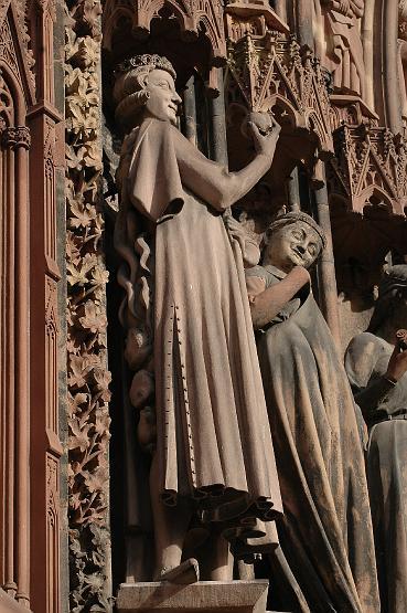 Les 10 vierges de Martin Schongauer. Les sages et les folles (c. 1480) 20110