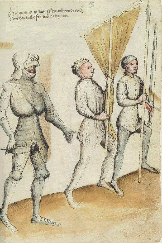 Talhoffer - 1467 : L'art de la guerre & des duels judiciaires par un maître visionnaire. 682px-10