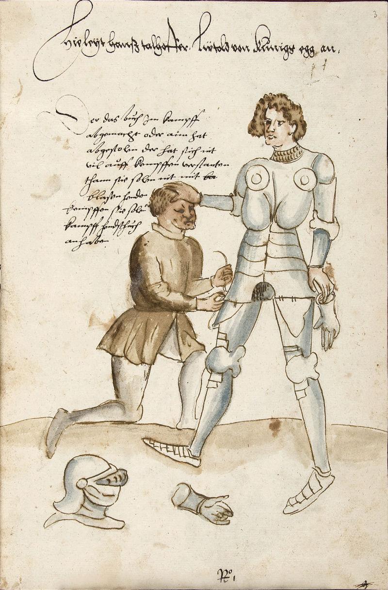 Talhoffer - 1467 : L'art de la guerre & des duels judiciaires par un maître visionnaire. Cod_i_10