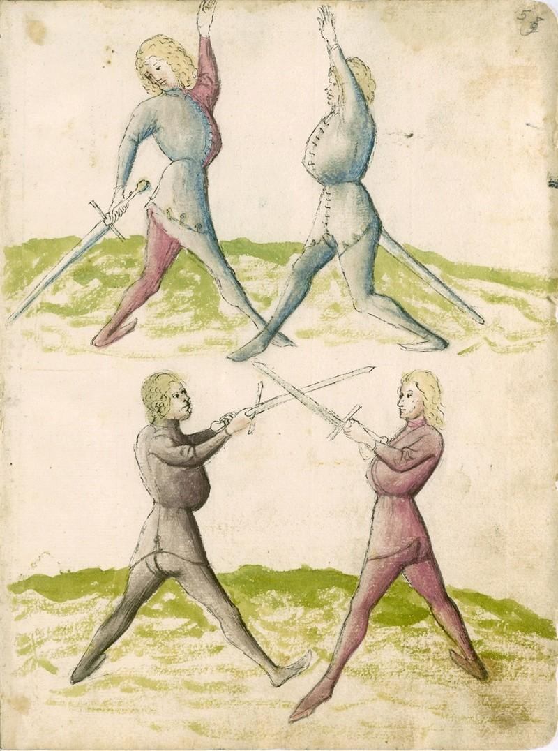 Talhoffer - 1467 : L'art de la guerre & des duels judiciaires par un maître visionnaire. Ms_cha10
