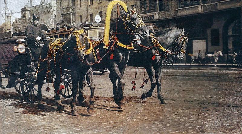 Зачем Москве были нужны «ваньки», «голубчики», «лихачи»? 1210