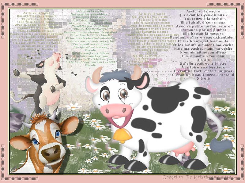 Défi animaux 1  La vache Defi111