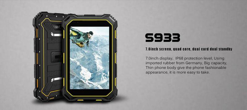 Tablette durcie étanche S933 IP68 Htb1au10