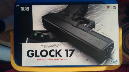 GLOCK 17 MARUI + chargeurs 25398811