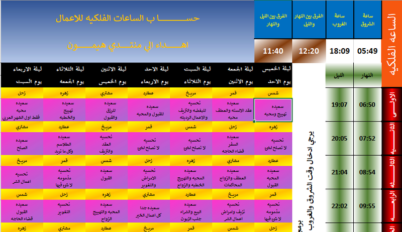 برنامج ساعات العمل  - صفحة 3 11111111