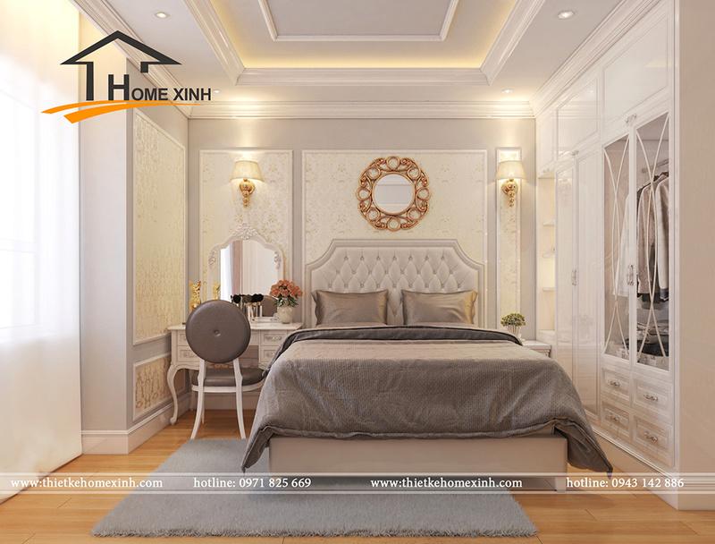 Căn chung cư được thiết kế theo phong cách tân cổ điển đẹp lung linh không thể bỏ qua Phyng_12