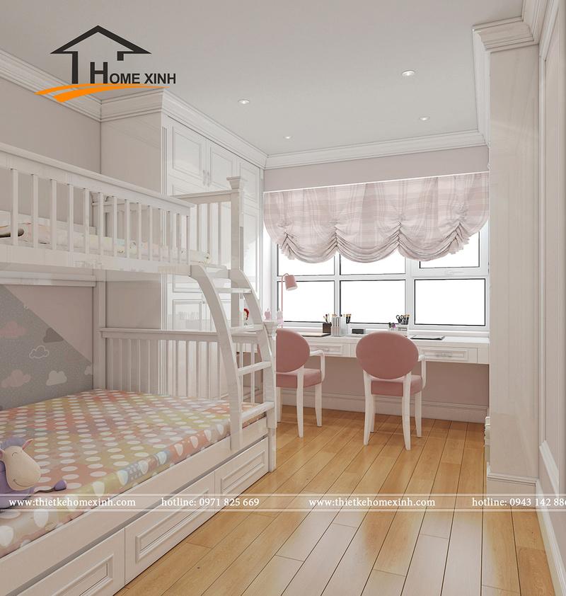 Căn chung cư được thiết kế theo phong cách tân cổ điển đẹp lung linh không thể bỏ qua Phyng_14