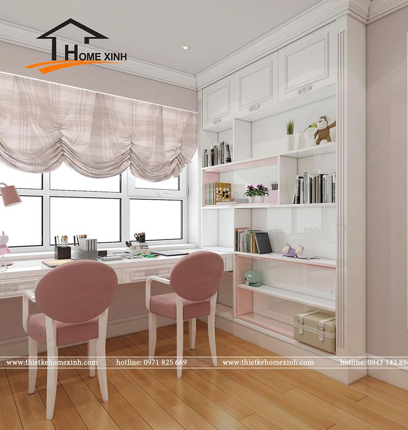 Căn chung cư được thiết kế theo phong cách tân cổ điển đẹp lung linh không thể bỏ qua Phyng_15