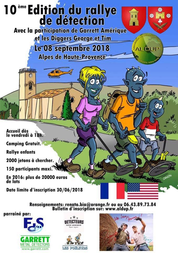 RALLYE 10 ème édition rallye ALDUP ! 08 septembre 2018 08_sep10