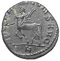 Antoniniano de Galieno. APOLLINI CONS AVG. Roma. Busto anv a izq. 110