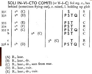 Nummus de Constantino I. SOLI INVICTO COMITI. Sol a izq. Roma 113