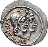 Glosario de monedas romanas. DIÓSCUROS. 310