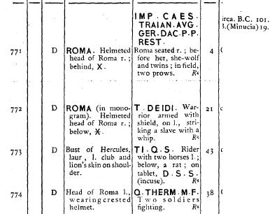Denario de restitución de Trajano en Aureo & Calicó. 311