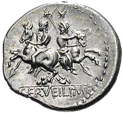 Glosario de monedas romanas. DIÓSCUROS. 510