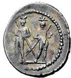 Glosario de monedas romanas. DIÓSCUROS. 710