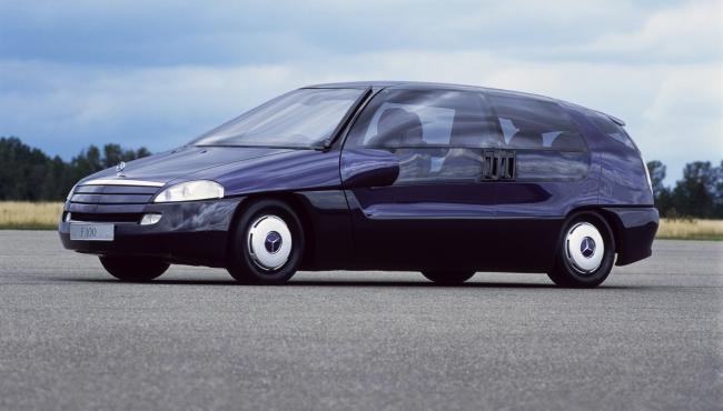 Curiosidade: Mercedes F100, um carro-conceito esquecido Merced18