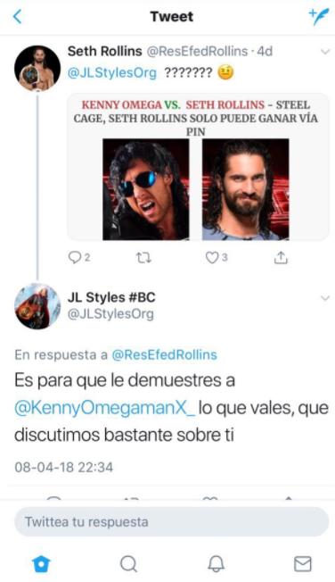 Respuesta a JL Styles y mensaje para el roster de RAW Rollin10