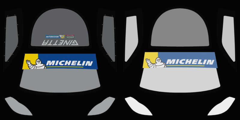 Ginetta GT4 SuperCup Skin Pack & Texture Upgrade Patch Ginett10